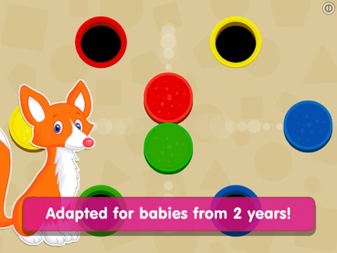 Shapes! Toddler Kids Games,Baby Boys Learning Free screenshot 3