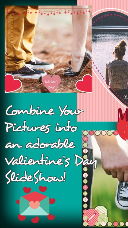 love story pic to video editor slideshow maker