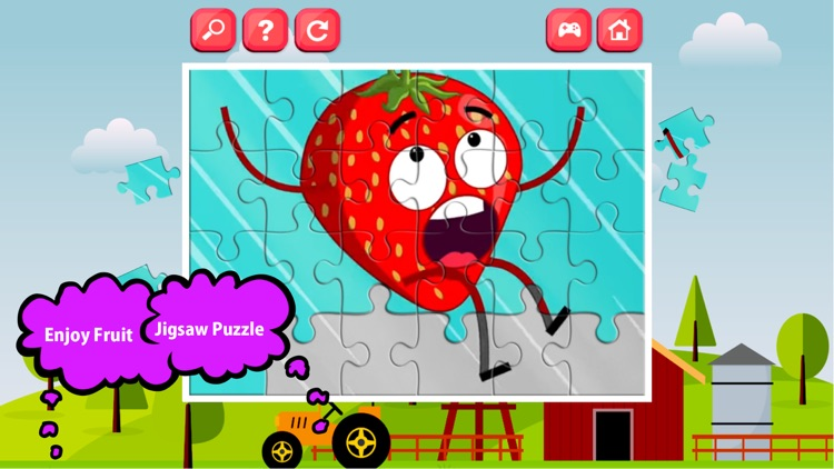 fruit puzzle games