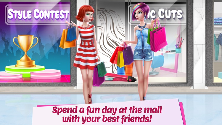 Game girl dress up style