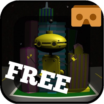 Big City, Bigger Robot FREE for Google Cardboard for iPhone
