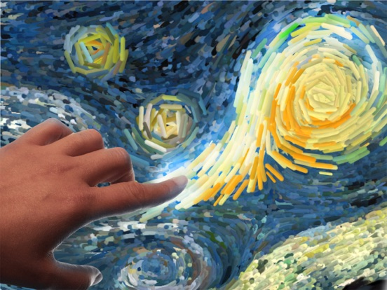 Screenshot #3 for Starry Night Interactive Animation