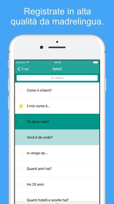 Screenshot of Imparare il Portoghese Brasiliano Con Audio2