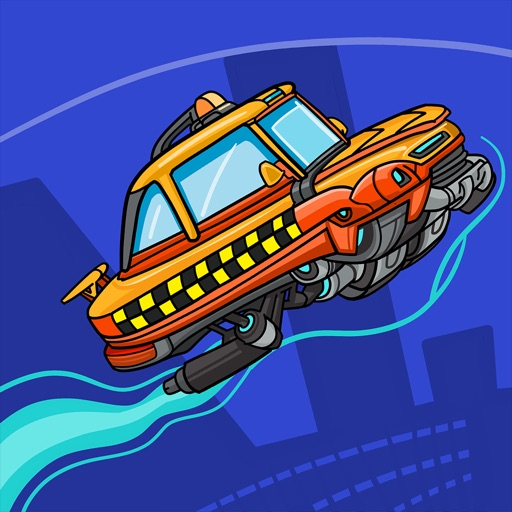 Smashy Race Off - Road of racing games for free iOS App