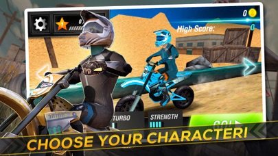 Screenshot #6 for Motocross Trial Racing 3D