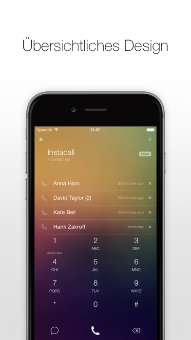Instacall - Smart Dialer Screenshot