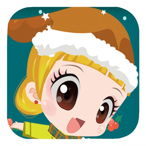 Christmas Salon Party - Free Make Up Game for kids iOS App