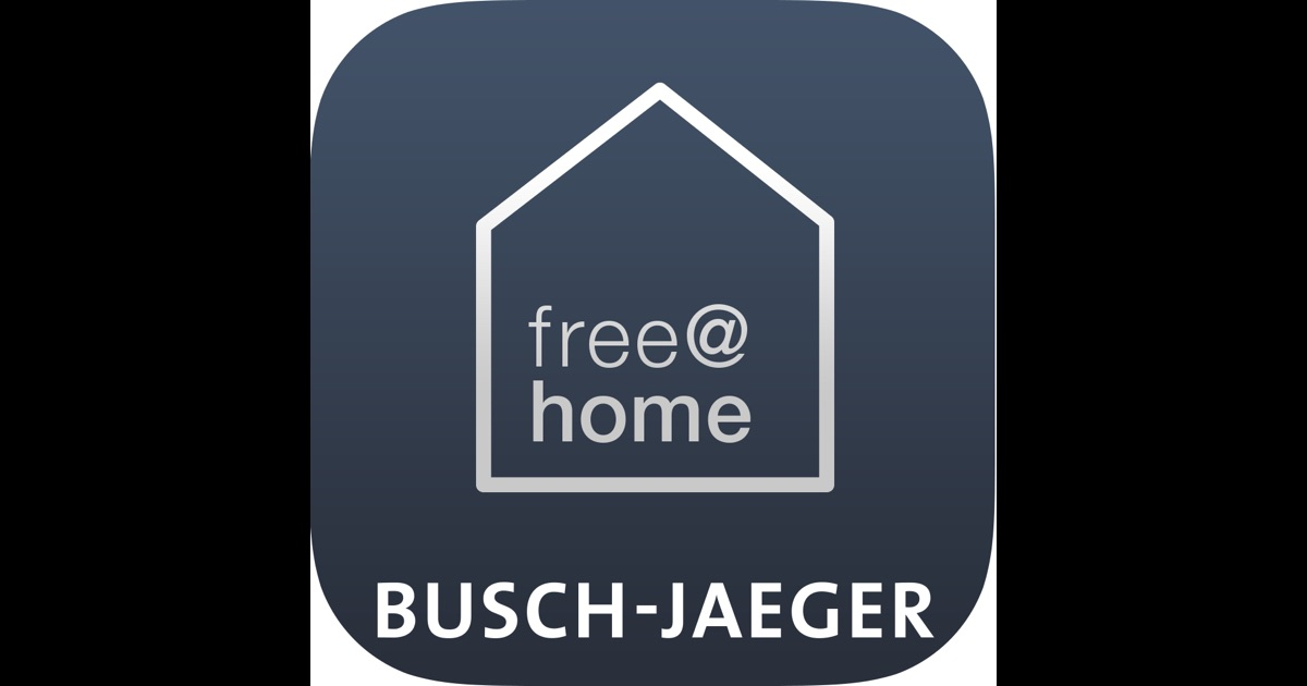 busch free home smart home app im app store. Black Bedroom Furniture Sets. Home Design Ideas