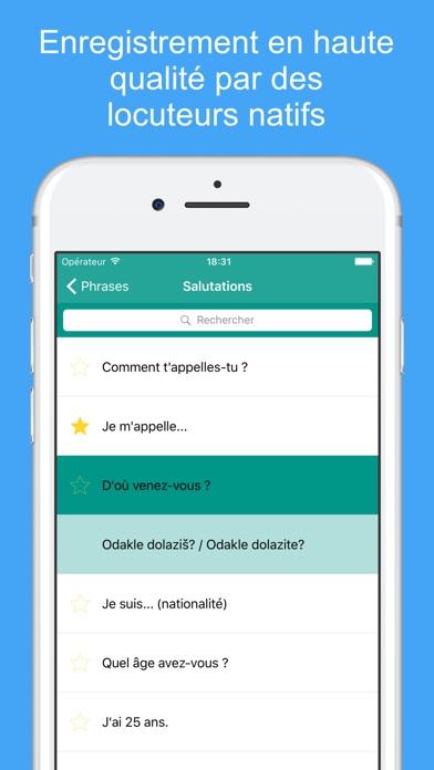Apprendre Le Croate - Mots Et Phrases De VoyageCapture d'écran de 2