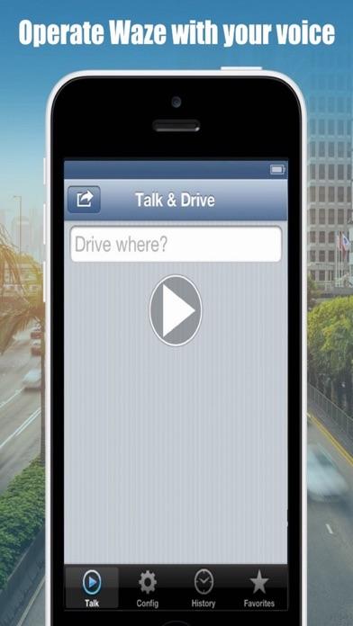 Talk And Drive For Waze Screenshot