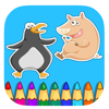 Free Coloring Book Game Penguin And Pig Version Wiki