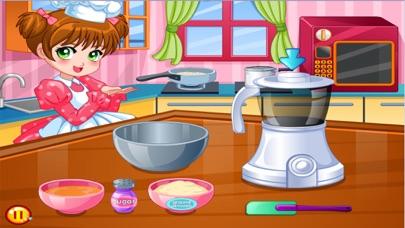 العاب طبخ سارة - طبخ الحلويات الشهيةلقطة شاشة2