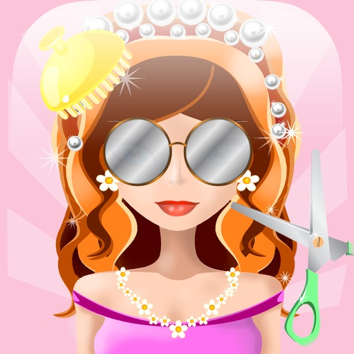 Awesome Prom Princess Hair Salon Spa - Makeover Beauty Game for Girl iOS App