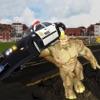 Crazy Rhino Man City Attack: Gangster 3D Shooting