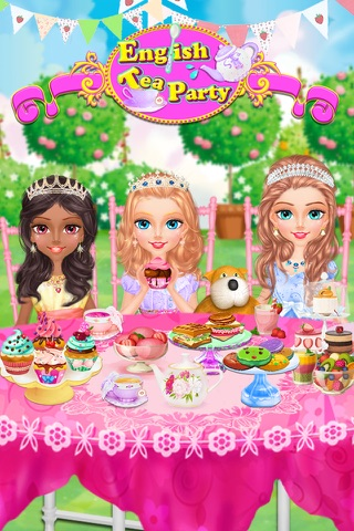 Princess Tea Party! screenshot 4