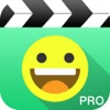Funny Emoji Video Pro, add face sticker