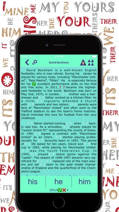 Pronouns Pro: English Grammar Screenshots