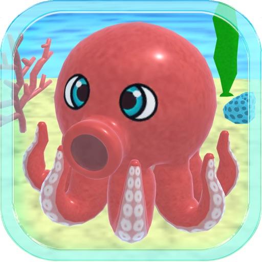 Octopus Hunter 3D Simulator iOS App