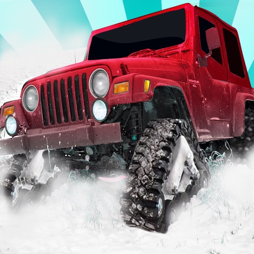Offroad Car Wheelie Ice Racing - Monster Car Race Icon