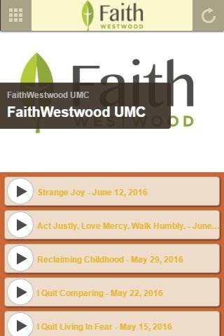 FaithWestwood UMC screenshot 1