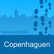 Copenhagen on foot : Offline Map
