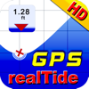 Real Tides and Current HD nautical charts forecast