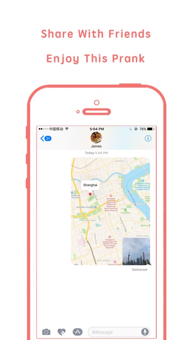 Screenshots of Fake gps- change GPS location&share fake location for iPhone