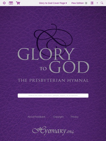 Glory to God Hymnal screenshot 1