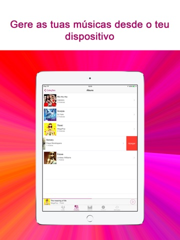 Cloud Music App screenshot 2