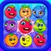 Frenzy Fruits Toy Match - Super blast 3 heroes fruits super