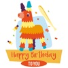 Wishes Sticker : Happy Birthday, Love & Congrats