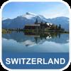 Suisse Carte hors-ligne - PLACE STARS