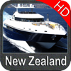 Marine : New Zealand HD - GPS Map Navigator