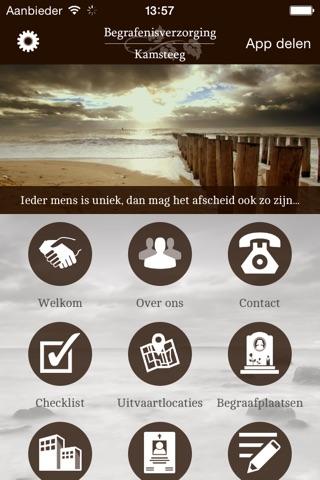 Begrafenisverzorging Kamsteeg screenshot 1