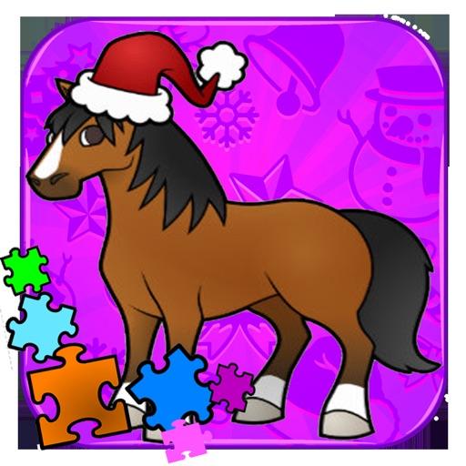 Toddler Horse - Pony Puzzles & Animal iOS App
