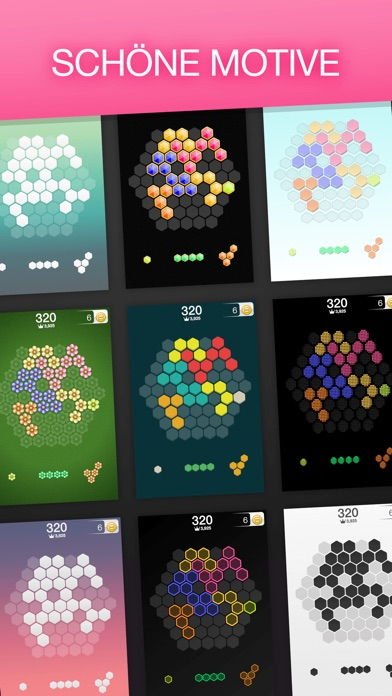 Screenshot von Hex FRVR - Hexagon Puzzlespiel3
