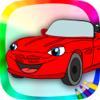 Libro para colorear coches – juego de pintar autos