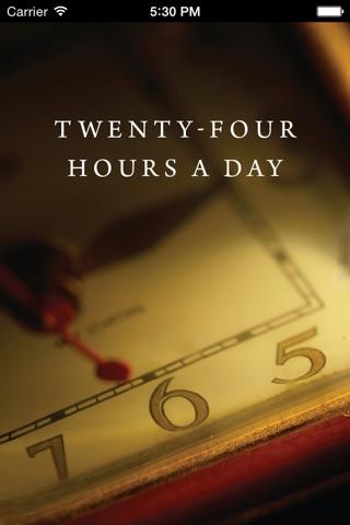 Twenty-Four Hours a Day: Recovery Meditations screenshot 1