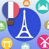 Französisch lernen Alphabet mit Baby Flashcard