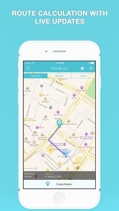 Find My Car - GPS Автомобиль Парковка НапоминаниеСкриншоты 5