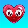 Émoticônes de coeur - L'amour emoji autocollants