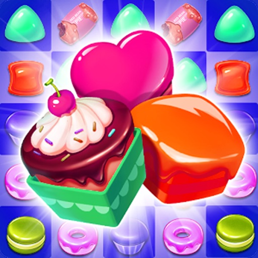 Astonishing Cookie Puzzle Match Games iOS App