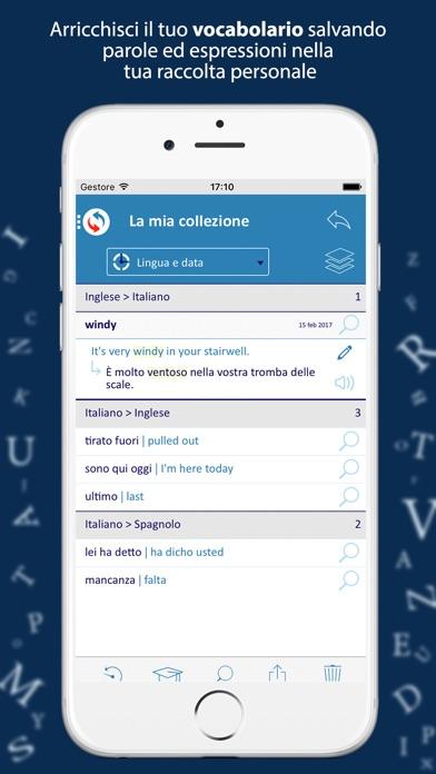 Reverso context traduttore sull 39 app store for Traduttore apple
