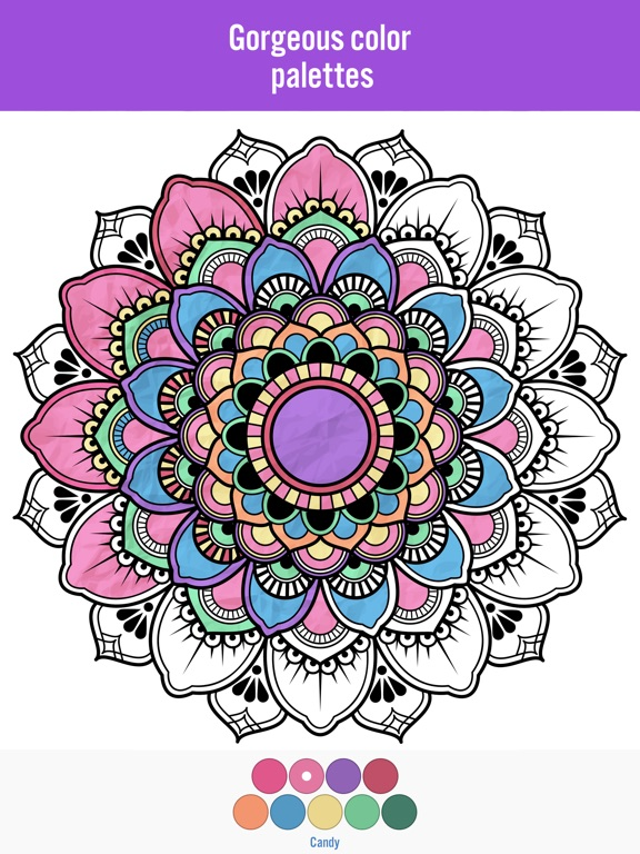 Colorama Coloring Pictures On The App Store