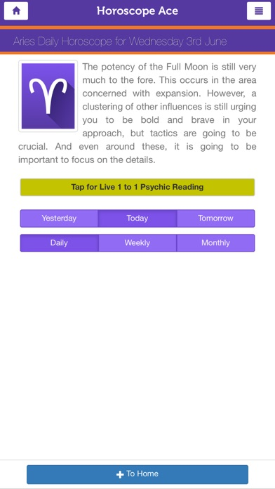 download Horoscope Ace apps 2