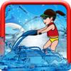 Carolina Vergara - A Classic Race Jet Ski Chase : Water Splash  artwork