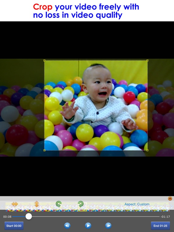 T l charger crop video pour iphone ipad sur l 39 app store for Application miroir pour ipad