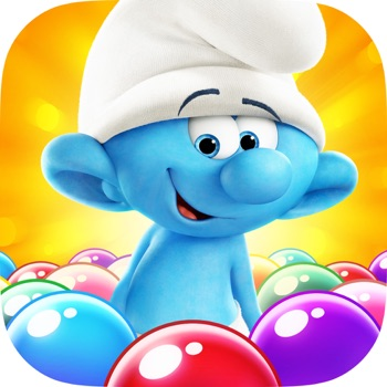 Smurfs Bubble Story app for iphone