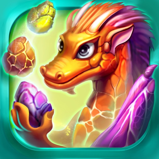 Merge Dragons - An addictive Match 3 puzzle game! Icon