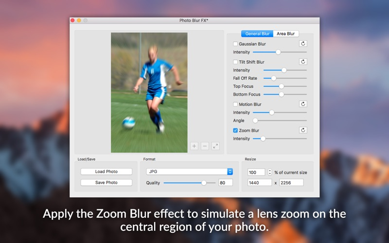 Photo Blur FX - Image Blur and Focus Effects Screenshots